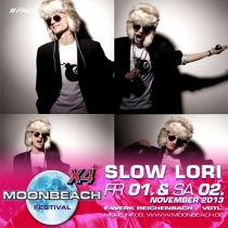 MOONBEACH X4 mit Slow Lori