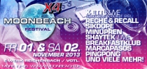 FR. 01.11 & SA. 02.11 // MOONBEACH FESTIVAL X4 // 3X2 FREIKARTEN [CLOSED]